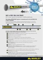 OPTIM® DWV Quality Standards Flyer