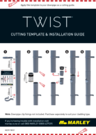 Twist Install Instructions + Cutting Template
