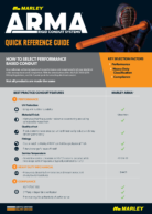 ARMA Quick Reference Guide