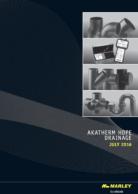 Akatherm HDPE Drainage Catalogue